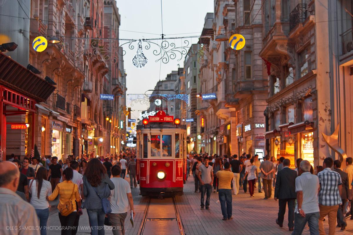 Прогуляемся по культурным улочкам центра Стамбула